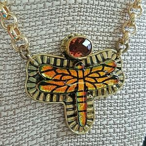 Amy Kahn Russell AKR Dragonfly Necklace